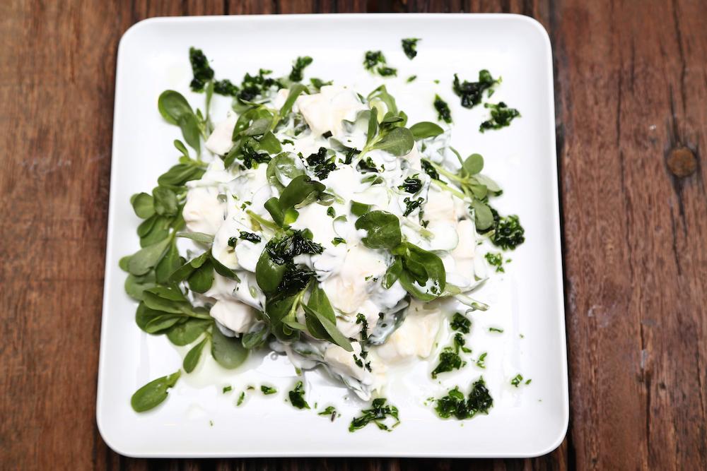 Ekşi Elmalı Semizotu Salatası (2)
