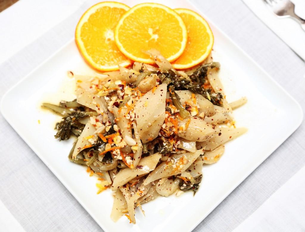 Portakallı Şevket-i Bostan Salatası (7)